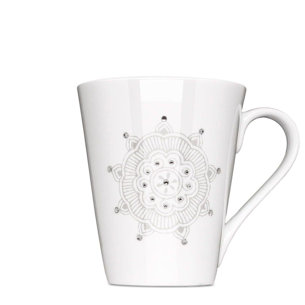 Swarowski Crytalized Mug - Mahlwerck Porcelain