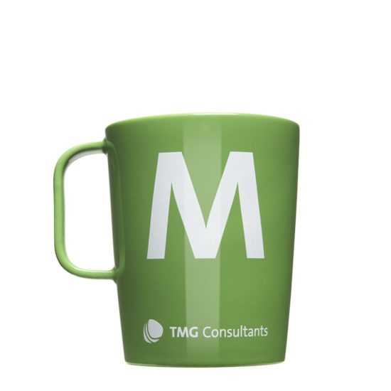 Tassen in CI-Farben mit Logo bedrucken lassen - Mahlwerck Porzellan
