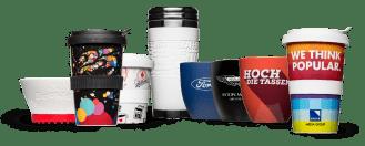 Mugs and mugs printed as design ideas