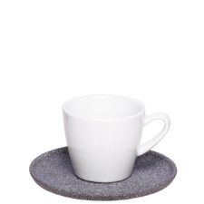 Print or engrave espresso cup with granite look - Mahlwerck porcelain