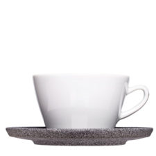 Large cups and saucer made of granite look - Mahlwerck