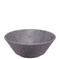 Schüssel im Granit Look zum gravieren - Mahlwerck Porzellan