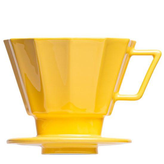 Handfilter Kaffee aufgießen moderner Kaffeefilter - Mahlwerck