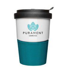 Coffee2Go Logobecher in Corporate Design - Mahlwerck Porzellan