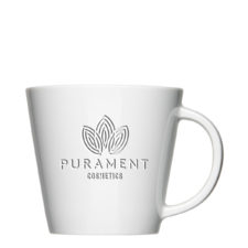 Logo cup tone on tone engraving for pure understatement - Mahlwerck porcelain