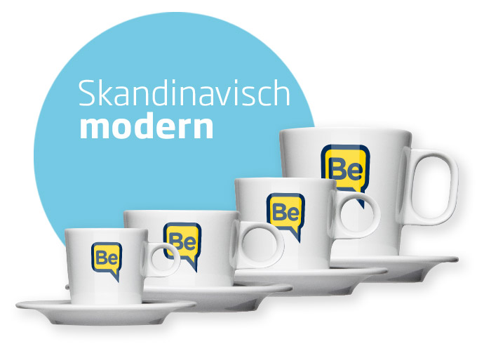 Scandinavian cup series for gastronomy and offices - Mahlwerck porcelain