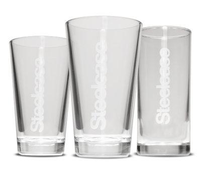 Gläser mit Logo-Gravur