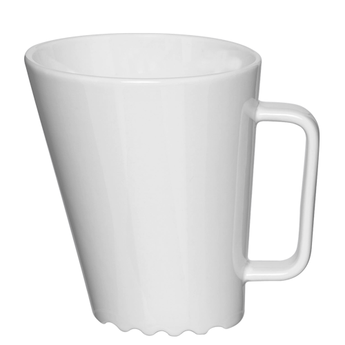 Spectacular sloping mug for logo printing - Mahlwerck Porzellan