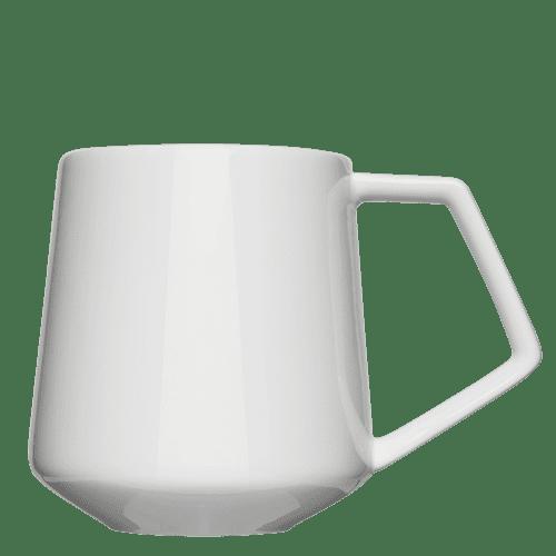 Have modern cup shapes printed - Mahlwerck porcelain