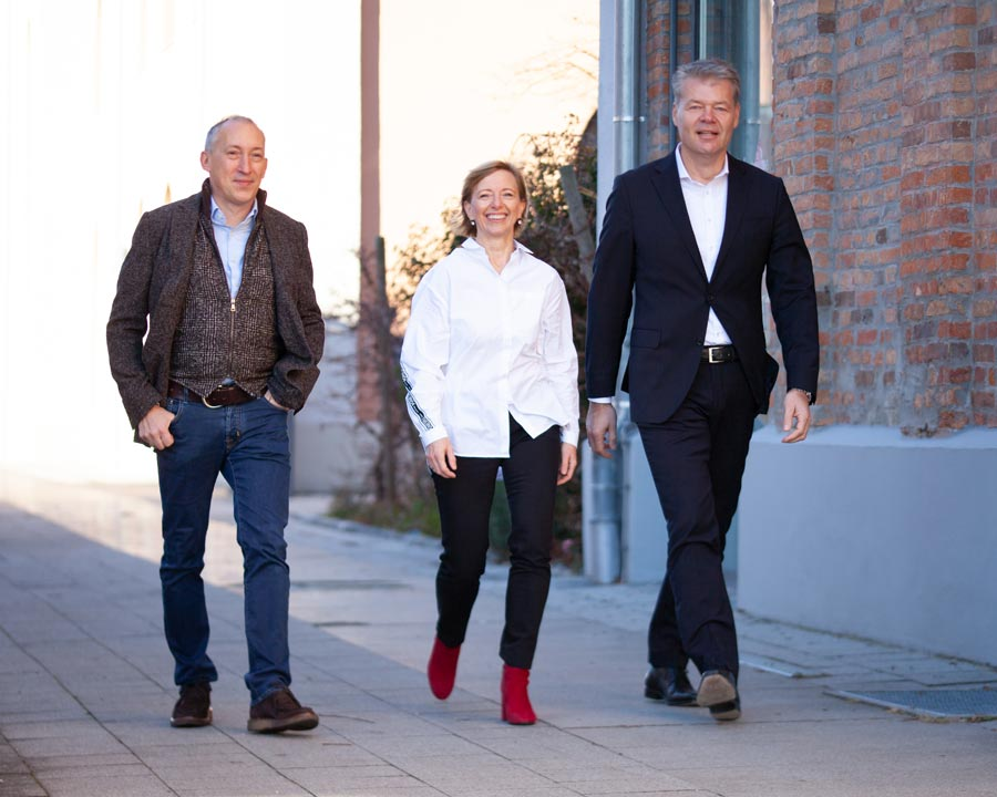 Geschäftsführung der Mahlwerck Manufaktur - Tobias Köckert, Heike Hampel-Rudolpf & Bernd Lietke