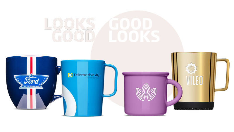 Have cups printed - premium promotional cups from Mahlwerck