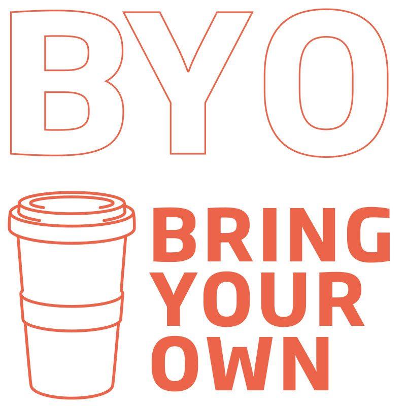Coffee to go Becher BYO bring your own - Mahlwerck Porzellan