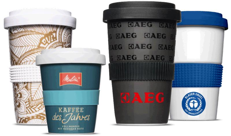 Nachhaltige Coffee to go Mehrwegbecher