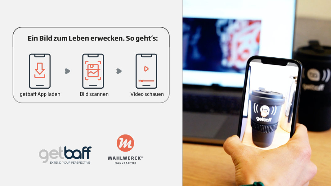 Funktionsweise Augmented Reality auf Produkten